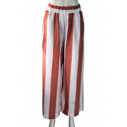 Nina pant (White and orange)