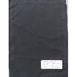 Organic Cotton Fabrics- Dobby weave Black