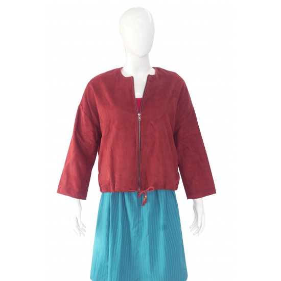 Jacket for women (Maroon)