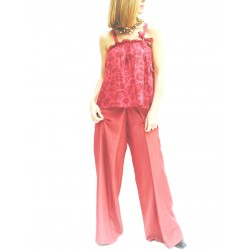 TOP WITH RIBBON  RED