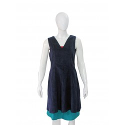 Sleeveless top (Blue)