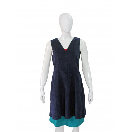 Sleeveless top (Blue)
