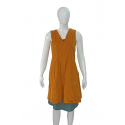Sleeveless top (Yellow)