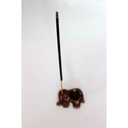 Elephant incense holder (Brown)